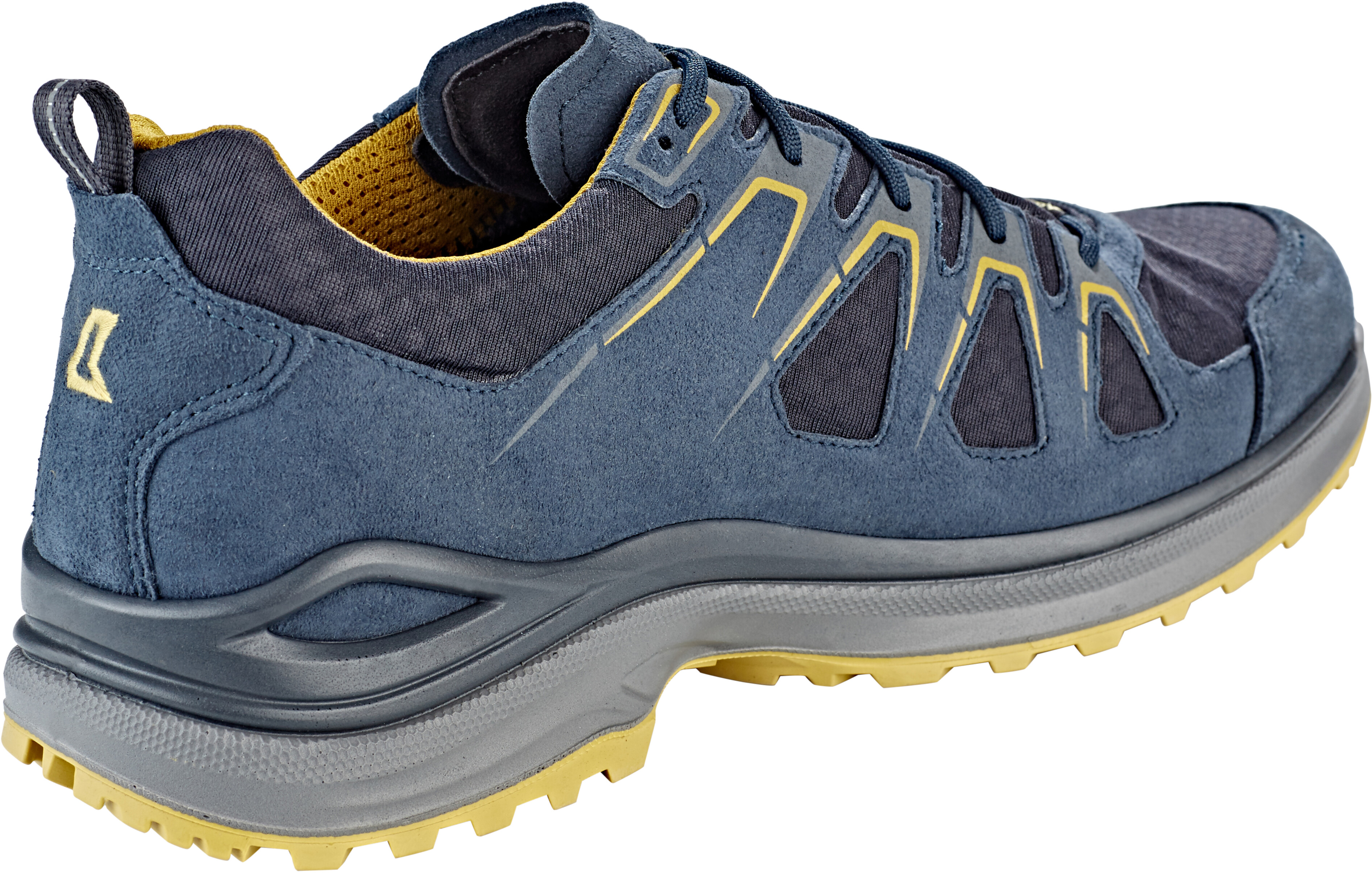 attractive price factory authentic crazy price Lowa Innox Evo GTX Low Shoes Men steel blue/mustard